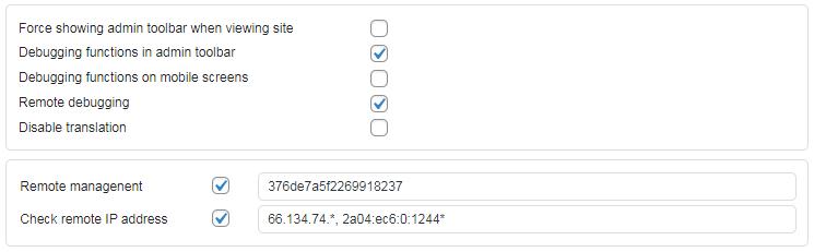 remote management remote website